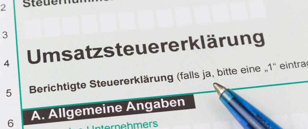 Photovoltaik-Umsatzsteuer