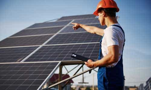 Solar-Investition