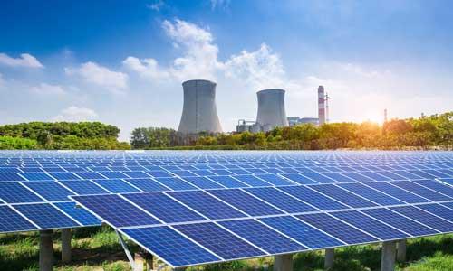 Atomenergie-Photovoltaik