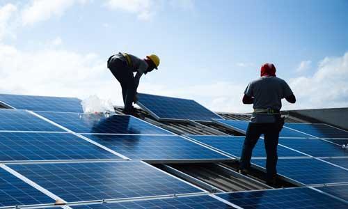 Photovoltaik-Montage-Versicherung