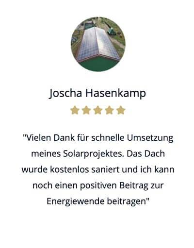 Solar Direktinvestment Erfahrung