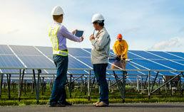 Photovoltaik-investieren